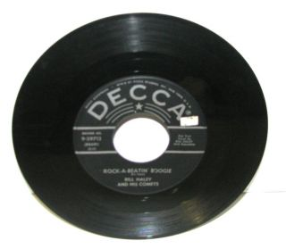 bill haley comets burn that candle rock a beatin 45