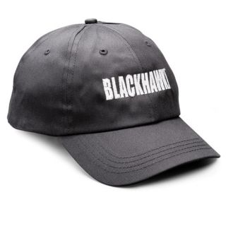 New Black Blackhawk Adjustable Operators Logo Cap Hat