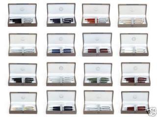 Bill Blass Cross Grenadier 3 Pen Set 4 Colors New