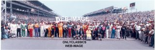 1st Brickyard 94 Stock Car Race NASCAR Panoramic Photo