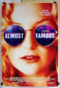 2000 Almost Famous Original 27x40 DS Movie Poster Kate Hudson Cameron