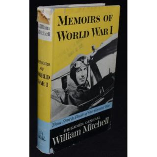1960 1s Ediion USAF Faher Billy Michell Memoirs of WWI World War I