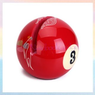 Billiards Ball Business Name Card Holder Stand Photo Display Table