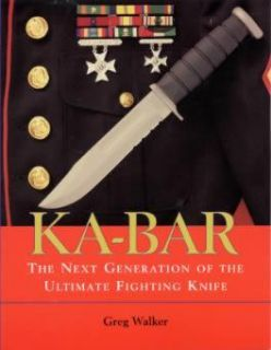 Ka Bar Fighting Knife Book USMC Combat Vintage Antique