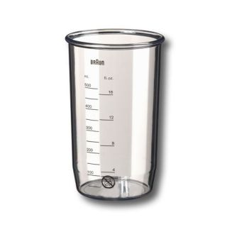 Braun hand blender mixer stick replacement cup beaker NEW MR430HC