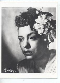 Billie Holiday Jazz Singer Woman Black Americana African American