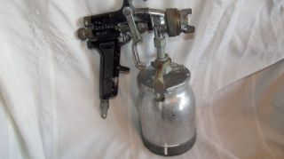 Air Paint Spray Gun Binks Model 7 Sprayer Lightly Used