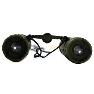 New 8X 21mm Mini Binoculars Telescopes Army Green For Outdoor