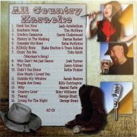ALL COUNTRY KARAOKE KURRENTS VOL3 CDG. 16 NEW Tracks w/GEORGE STRAIT