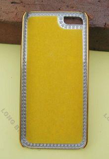 Peacock Diamond Rainstone Bling Case Cover Skin for iPhone 5 I5FY038