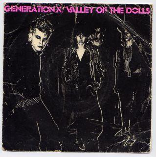 Generation x Valley of The Dolls Billy Idol Punk 7