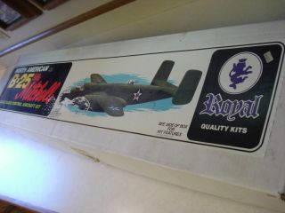 ROYAL NORTH AMERICAN B 25 BILLY MITCHELL RADIO CONTROL MODEL