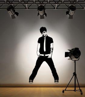 Billie Joe Armstrong Green Day Wall Art Sticker F006