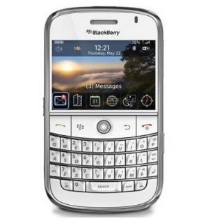 New Blackberry Bold 9000 1GB White Unlocked Smartphone