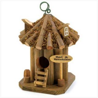 Wood Birdhouse Outdoor Decorative Bird House 12 to Choose From
