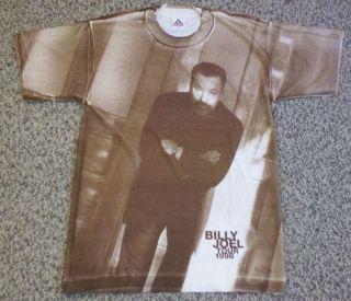 Vintage Billy Joel 1998 Concert Tour Shirt Greatest Hits Rare Elton