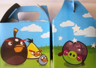 new angry birds 20 party favor treat boxes