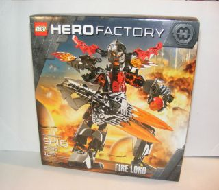 Lego Technic Bionicle Hero Factory Set 2235 Fire Lord 2011