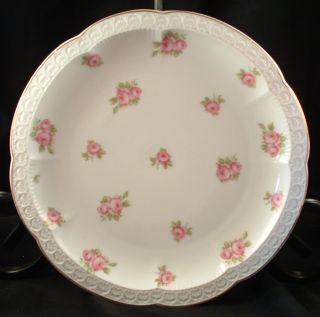Rosenthal Bavaria Germany Porcelain Plate Carmen Rose Pattern