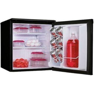Danby DAR195BL 1 8 CU ft Refrigerator Black Compact Mini Fridge Dorm