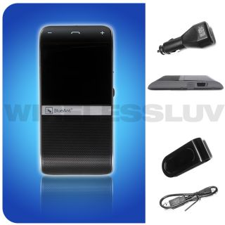 BlueAnt S4 Bluetooth Hands Free Car Speakerphone Kit w/ Dual Phone