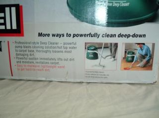 Bissell Big Green 1672 Bare Floor Carpet Deep Cleaner Wet Dry Vacuum
