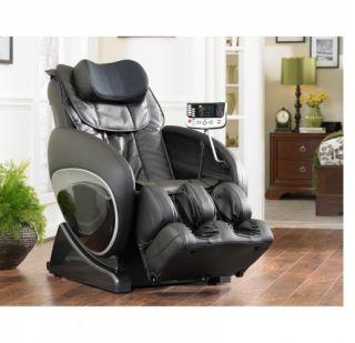 New Cozzia 16027 Black Full Body Zero Gravity Massage Chair Recliner w