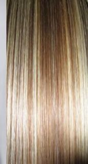 Hair Extensions All Lengths Blonde Brown Highlight 160 grams of Hair