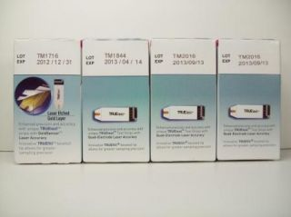 Diabetic Test Strips Exp 9 2013 Truetest Blood Glucose 4 Boxes