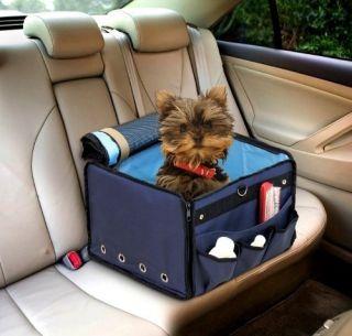 New Black DOG CAR SEAT Booster Tote Pet Cat CARRIER M Medium