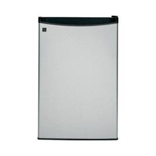 ft Stainless Steel Black Compact Refrigerator Mini Dorm Fridge