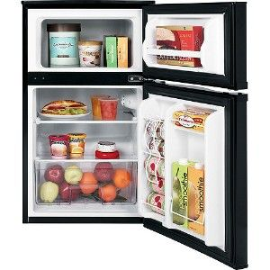 cubic foot black ge compact refrigerator energy star qualified