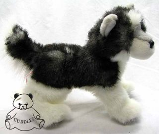 Joli Husky Dog Douglas Cuddle Plush Toy Stuffed Animal Realistic Puppy