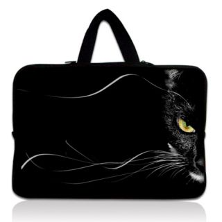 Black Cat 15 15 4 15 6 Laptop Sleeve Case Bag Handle