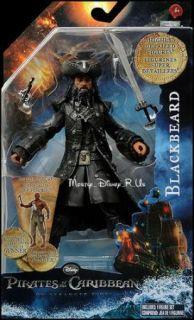 Pirates Of Caribbean On Stranger Tides BLACKBEARD Toy Action Figure