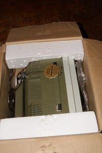 Admiral Playmate Television 70s Avocado Green Tags Prop Works