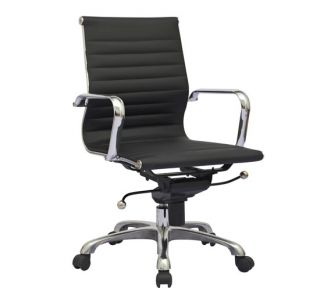 644 9366 new modern design synthetic leather office chair black