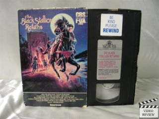 The Black Stallion Returns VHS Kelly Reno Teri Garr