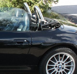 BMW Z3 Stainless Polished Roll Bar Style Bar