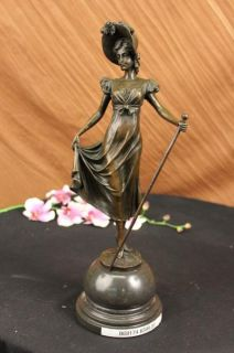 Little Bo Peep Bronze Sculpture Figurine D H Chiparus Statue Figure