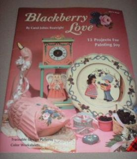 Blackberry Love Tole Painting Book 13 Projects Patterns