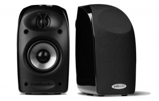 New Polk Audio TL1 TL 1 Satellite Speaker 1 Pair X2 Speakers Black