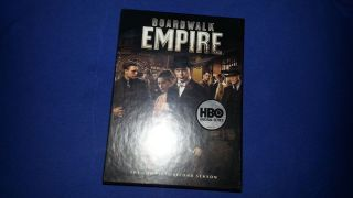Boardwalk Empire Complete Second Season (DVD, 2012, 5 Disc Set)