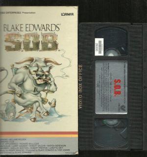 VHS 1996 Blake Edwards CBS Fox Large Flip Top Box Lorimar MGM