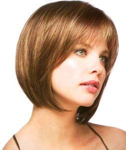 371 Fashion Short Light Brown Bob Ladys Wig Wigs