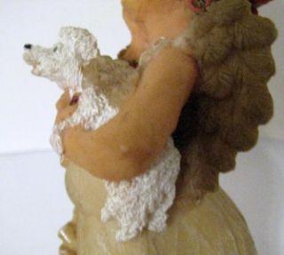 Retired Guardian Grannies Collectible Blanche Figurine Hairdresser w