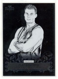 2012 PANINI BLACK FRIDAY BLAKE GRIFFIN PRESS PROOF BLANK BACK CARD 3