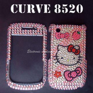 Bling Hardy Case Cover BlackBerry Curve 8520 8530 9300 9330 3G Skin