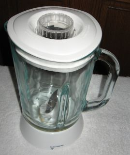 Hamilton Beach Blender Glass Jar Lid Blade Model 54253C0