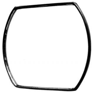 Tigerey 5 1 2 x 4 Large Convex Blind Spot Mirror Stick on A5